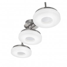 Потолочная светодиодная люстра IDLamp Frittelle 107/3A-LEDWhitechrome