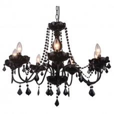 Подвесная люстра Arte Lamp Odillia A8918LM-7BK
