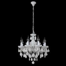 Подвесная люстра Crystal Lux Ines SP8 White