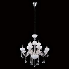 Подвесная люстра Crystal Lux Luccila SP8+4 White