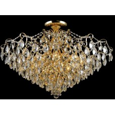 Потолочная люстра Crystal Lux Contessa PL12 Gold