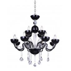 Подвесная люстра Crystal Lux Luccila SP8+4 Black