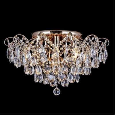 Потолочная люстра Crystal Lux Contessa PL6 Gold