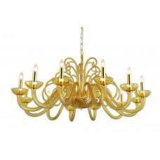 Подвесная люстра Crystal Lux Aelita SP12 Gold