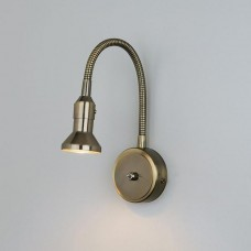 Подсветка для картин Eurosvet 1215 Plica MR16 бронза/золото