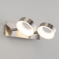 Светодиодный спот Eurosvet Frisco 20065/2 сатин-никель