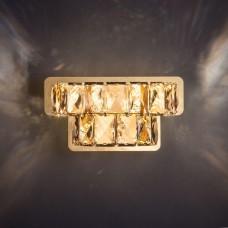 Настенный светодиодный светильник Eurosvet Grasia 90059/2 золото