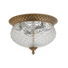 Светильник потолочный Crystal Lux HOLA PL4 BRONZE
