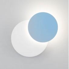 Настенный светодиодный светильник Eurosvet Figure 40135/1 белый/голубой