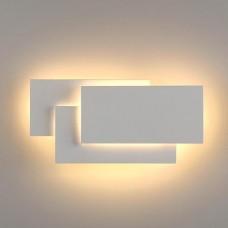 Настенный светодиодный светильник Eurosvet 1012 Inside MRL LED 12W IP20 белый матовый
