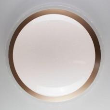 Потолочный светодиодный светильник Eurosvet Fusion 40004/1 LED матовое золото