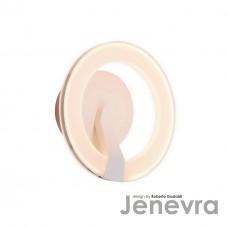 Настенный светодиодный светильник IDLamp Jenevra 397/1A-LEDWhitechrome