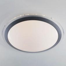 Потолочный светодиодный светильник Eurosvet Fusion 40004/1 LED матовое серебро