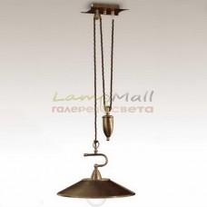 Подвесной светильник CREMASCO 0356/1S-CON
