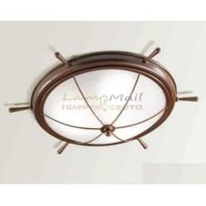 Потолочный светильник CREMASCO 681/3PL-GR-BR