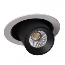 Встраиваемый светодиодный светильник Crystal Lux CLT 011C WH-BL