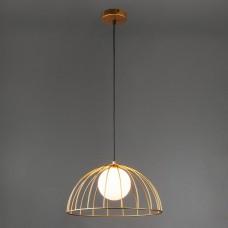 Подвесной светильник Eurosvet Sunny 50140/1 золотой