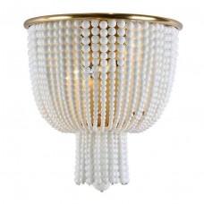 Настенный светильник Newport 3132/A Brass/White