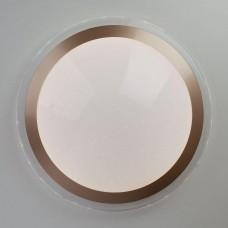 Потолочный светодиодный светильник Eurosvet Fusion 40003/1 LED матовое золото