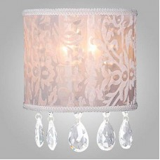 Настенный светильник Eurosvet 10024/2 золото/прозрачный хрусталь