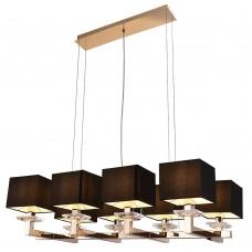 Подвесной светильник Newport 3208/S gold без абажуров