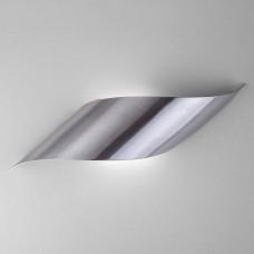 Настенный светодиодный светильник Eurosvet Elegant 40130/1 Led сатин-никель