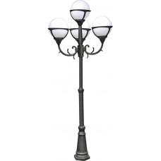 Садово-парковый светильник Arte Lamp Monaco A1497PA-4BK