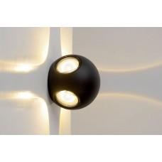 Уличный настенный светодиодный светильник Lucide Yupla 27880/08/30