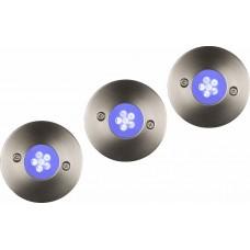 Ландшафтный светодиодный светильник Lucide Trio Led-Set 11862/23/35