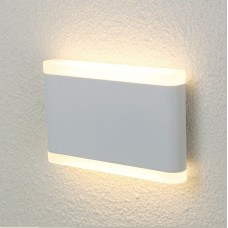 Уличный настенный светодиодный светильник Crystal Lux CLT 024W175 WH